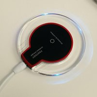 apple module - S6 Qi Wireless Charger receiver module and Charging Pad Cell phone Mini Charge Pad For Samsung nokia htc LG cellphone