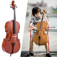 Wholesale size cello High quality Maple wood makes cello