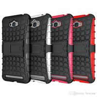 asus skin - Heavy Duty Rugged Defender Armor Phone Hybrid Kickstand Case For ASUS Zenfone Laser ZE600KL ZE550KL Max G0 ZC451 Cover Skin Shockproof