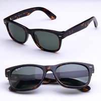 Wholesale 2016 Summer Brand polarized Sunglasses Fashion Glass mirror casual glasses mm mm and Original box