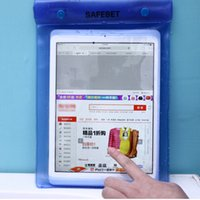 Wholesale Freeshipping Waterproof Pouch Sleeve Case Bag For Apple iPad and iPad mini tablet pc meters underwater diving bag