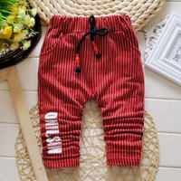Wholesale Children in child boy pants Hitz cotton casual pants boy fashion classic through exquisite workmanship