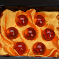 Wholesale 3 CM DragonBall Stars Crystal Ball Dragon Ball Z Balls Complete set Great Gifts For Collection