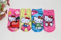 baby girl stockings - Cute d cotton socks stocking cartoon printing socks for Kids baby children boys girls new patterns frozen Star Wars Minion Mickey Mouse