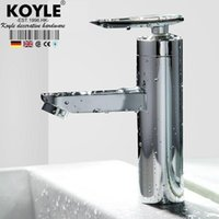 Wholesale KOYLE bathroom faucet torneira Mixer Tap Single Lever Faucet Bathroom Lavatory Tall Vessel Sink basin mixer tap basin faucet
