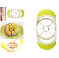 Wholesale Kitchen Stainless Steel Apple Pear Slicer Corer Fruit Wedge Cutter Divider Easy Cut Segmenter paring knives Dining Bar tools Peeler