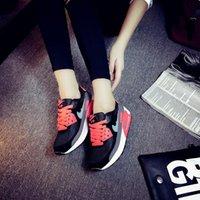 Wholesale Fashion Girls Casual Sneakers Brand Shoes Candy School Sport Shoes Korean Lady Women Heels Flat Walking Running Boost Shoes ZJ16 S03