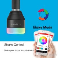 Wholesale Free DHL shipping MIPOW E27 W Bluetooth Smart IOS Android App Control RGB LED Lighting Lamp Bulb hotselling