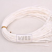 apparel garment - White Kraft Paper Hang Tag Strings Gift Garment Hangtag Cords cm mm Food Packing Ropes