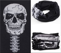 Wholesale A variety of seamless skull magic scarf collar men and women riding multifunctional outdoor windproof bandanas magic