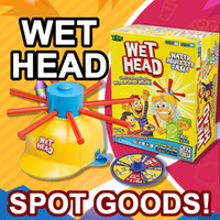 Wholesale Zorn toys Wet Head Game Wet Hat water challenge Jokes Funny Toys roulette game Tricky cap spot goods