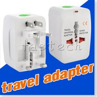 apple international plug adapter - All in One Universal International Plug Adapter World Travel AC Power Charger Adaptor with AU US UK EU converter Plug free DHL