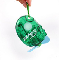 Wholesale 144pcs Mini Portable Deluxe Electric Water Spray Mist Sport Beach Travel Cooling Fan pocket fan