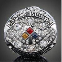 al por mayor champion rings-El cristal de alto grado popular del Rhinestone de la joyería defiende el tamaño 8 # 9 #