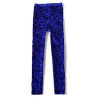 Wholesale New style hot sale spring autumn casual fashion leggings capris soild female lace hollow out embroidery women pencil pants
