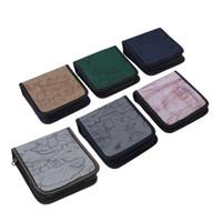 Wholesale 40 disc CD DVD Storage Case Holder DJ Storage Cover Box Case Disc Organizer Wallet Bag Album