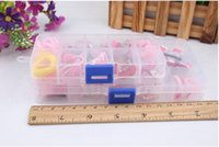 Wholesale Fashion Accessories box gift set contain hair clip hair tie necklace bracelet terry O elastic BB clip