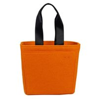 beauty drops polyester - Felt shoulder bag designer handbags receive a package shopping bag ladies fashion beauty Handbag drop shipping can customize logo
