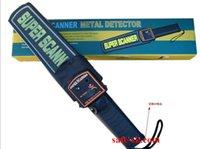 Wholesale CHEAP Porable Handheld Metal Detector Professional Super High Sensitivity Scanner Tool Finder For Security Checking Detectors