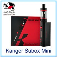 battery improve - kanger Subox Mini Starter Kit W mod OCC Coil ohm Improved RBA New Airflow battery VS Subox Nano Vape