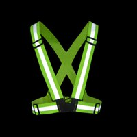 Wholesale Reflective Vest Safety Clothing Degrees High Visibility Neon Belt Reflex Weste for Cycling Training Suit Chaleco Reflectante