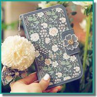 beautiful wallets - Vintage Fashion Leather Beautiful Beige Flower Wallet Case Pearl Chain for iPhone s se s Plus plus S6 Edge Rose Flower Retro Pattern