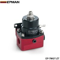 Wholesale EPMAN High Performance car racing parts AN JDM Adjustable Black Red Fuel Pressure Regulator PSI in stock EP MGT ZT