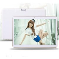 Wholesale Octa Core Inch Tablet PC G RAM GB ROM MTK8382 Dual SIM Card Chip Processors IPS Screen G Phone Tablets