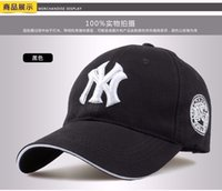 Wholesale fashion cotton baseball cap snapback hat for men women Men s Visors sun hat bone gorras ny embroidery caps spring cap