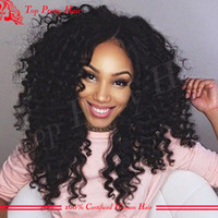 baby curl - Best Quality Kinky Curl Human Hair Wig For African American Lace Front Curly Human Hair Wigs Baby Hair Full Lace Wig On Sale
