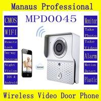 Wholesale Wireless Magnetic Door Lock with Camera WIFI Video Door Phone Intercom System Home Improvement Visual Door Bell D45b