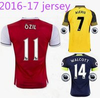 arsenal league - Thailand quality Premier League team Arsenal shirt OZIL WILSHERE RAMSEY ALEXIS go foot jersey