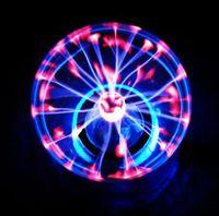 Wholesale Hot Sale New USB Magic Black Base Glass Plasma Ball Sphere Lightning Party Lamp Light