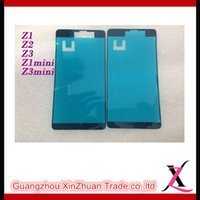 Wholesale Original New Honami C6903 C6906 C6943 Back Cover Back Housing Back Glass Black Or White Or Purple For Sony Xperia Z1 L39 L39H