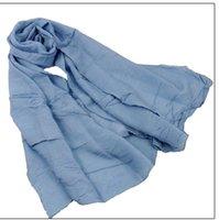 Wholesale High Quality Hot Sales colorful Fashion Islamic Turban Headwear muslim hijab Women s Maxi Scarf Head Wrap
