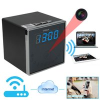 alarm clock app iphone - 1080P HD Wifi Network Spy hidden Camera Alarm clock camera Security DVR with140 Degree Wide View Support iPhone Android APP Remote View