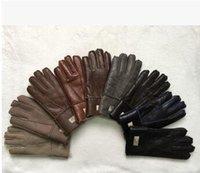 australian sheepskin gloves - Sheepskin one the men s winter gloves Thick leather gloves sheepskin wool gloves Australian Brand Men s Gloves