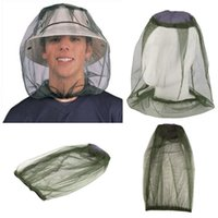 Wholesale Best selling Midge Mosquito Insect Hat Bug Mesh Head Net Face Protector Travel Camping