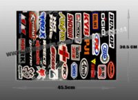 Wholesale set Speed Racer Combination Logo Sport Motorcycle Sticker Car Decal DE045 sticker car decal