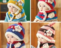 Wholesale Manufacturers selling new hat children winter headgear with thick ear children fashion cashmere knitted hat