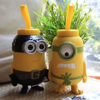 Wholesale Minions ml Thermos Cup Stainless Steel Vacuum Flasks Thermoses garrafa termica infantil thermo