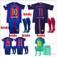 barcelona dhl - DHL Mixed buy barcelona kids sock jersey kit rd messi kids sock suarez neymar jr JERSEY SURVETEMENT sock