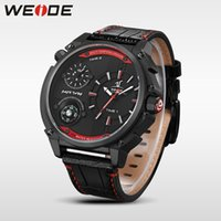 big mens dual watches - Outdoor classic military big dial Compass wrist watch for men Dual Time Zone quartz clock fashion Leather Strap mens sports watches brand