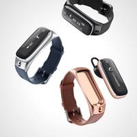 apple telephone support - M6 new intelligent bluetooth bracelet support android ios bluetooth headset metallic simple sense Bluetooth telephone caller id