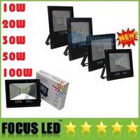 Wholesale AC V Led Floodlight V W W W W W W LED Landscape Led Outdoor Flood Light Waterproof led lamps