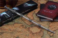 albus dumbledore wand - New Top Quality Albus Dumbledore Magic Wand With Gift Box Cosplay Game Prop Collection Harry Potter Toy Stick