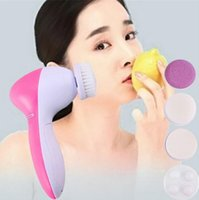 Wholesale Hot selling face wash Portable in1 Multifunction Electric Face Cleaning Brush Spa Skin Care Facial Massage Tool