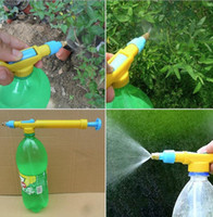 Wholesale Reciprocating sprayer Nozzles bottle manual push pull cheer pressure spray head watering pot head watering disinfection sprinkler head
