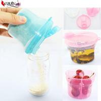 Wholesale 1 Portable Baby Milk Powder Formula Dispenser Container Storage Feeding Box Travel Storage Box Colors