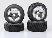 al por mayor hpi baja 5b-Baja 5B en placas de las cinco estrellas de la rueda de tornillo borde del cubo general HPI Rovan 85196 Piezas Accesorios